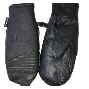 Under Armour leather mittens